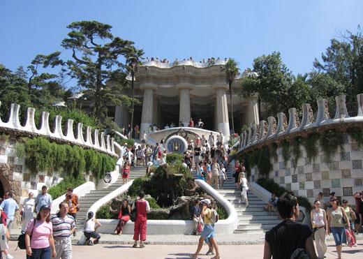 Лучшие курорты мира. Парк Гуэль. Барселона
