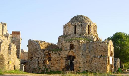 Крепость султана Алладина, Алания