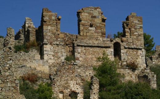Развалины Сиедры, Алания