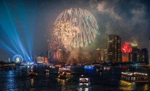 Новый год в Бангкоке. Тайланд