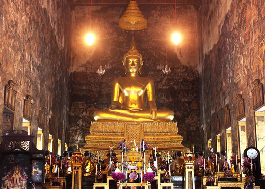 Ват Сутхат. Тайланд. Бангкок